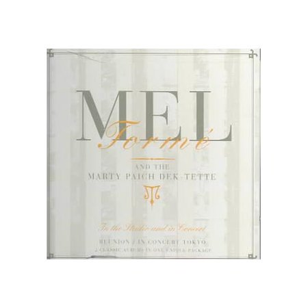 Full Performer Name  Mel Torme Marty Paich Dek Tette In The Studio And In Concert Contains The Two Previously Released Albums Reunion  1988  And In Concert Tokyo  1989  In One 2 Disc Package Includes Liner Notes By Chris Albertson And Jonathan Schwartz Reunion Personnel  Mel Torme  Vocals   Marty Paich  Conductor   Jack Sheldon  Warren Luening  Trumpet   Gary Foster  Alto Saxophone   Ken Peplowski  Tenor Saxophone   Bob Efford  Baritone Saxophone   Bob Enevoldsen  Valve Trombone   Lou Mcreary  Trombone   Jim Self  Tuba   Pete Jolly  Piano   Chuck Berghofer  Bass   Jeff Hamilton  Drums   Joe Porcaro  Efrain Toro  Percussion  Producers  Mel Torme  Marty Paich Engineer  Allen Sides Recorded At Ocean Way Recording  Hollywood  California In August 1988  Originally Released On Concord  43660  In Concert Tokyo Personnel  Mel Torme  Vocals  Drums   Marty Paich  Conductor  Keyboards   Gary Foster  Alto Saxophone   Ken Peplowski  Tenor Saxophone  Clarinet   Bob Efford  Baritone Saxophone   Jack Sheldon  Warren Luening  Trumpet   Dan Barrett  Trombone   Bob Enevoldsen  Valve Trombone   Jim Self  Tuba   Allen Farnham  Piano   Chuck Berghofer  Bass   John Von Ohlen  Drums  Producer  Carl E  Jefferson Engineer  Hatsuro Takanami Recorded Live At Kan I Hoken Hall  Tokyo  Japan In December 1988  Originally Released On Concord  4382