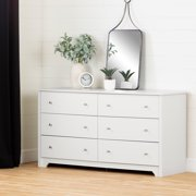 South Shore Vito 6-Drawer Double Dresser, Multiple Finishes