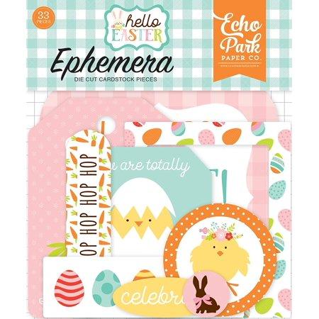 Hello Easter Ephemera, Hello easter ephemera By Echo Park PaperWalmartpany