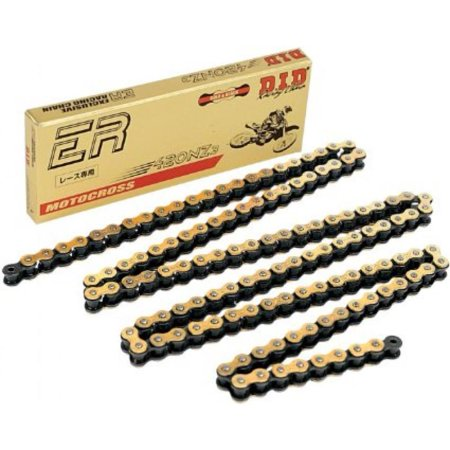 D.I.D 415ERZX110RB 415 ERZ Super Non O-Ring Chain - 110 Links - (Links O-ring)