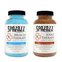 Spazazz Aromatherapy Spa and Bath Crystals 2PK - Muscular/Joint Therapy
