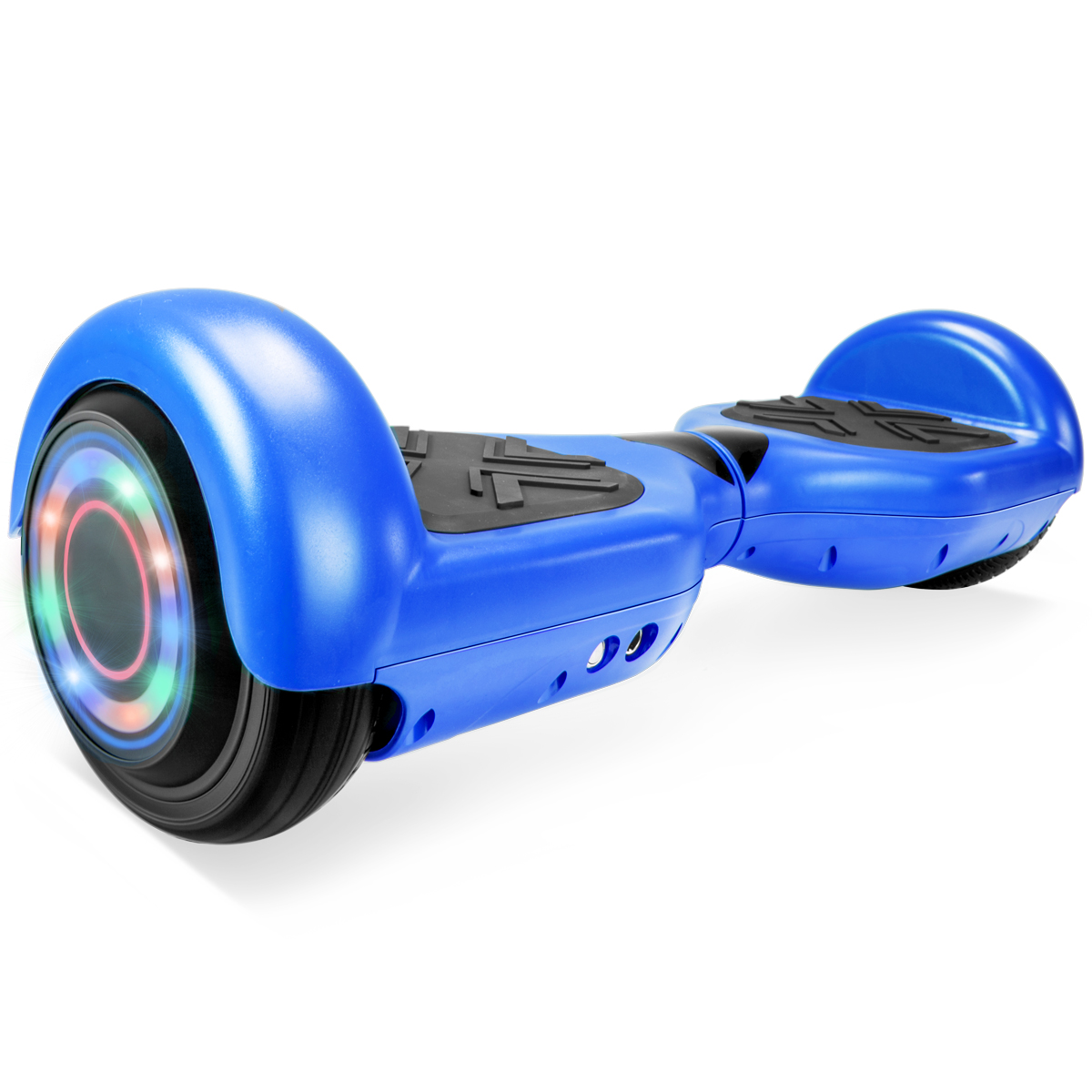 "UL 2272 Certificated 6.5"" Self Balancing Hoverboard Scooter w/ Bluetooth Speaker - Matte Blue"