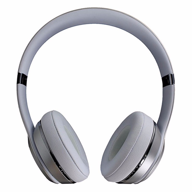 Beats Solo3 Wireless Series On-Ear Headphones - Silver (MNEQ2LL/A) (Refurbished)