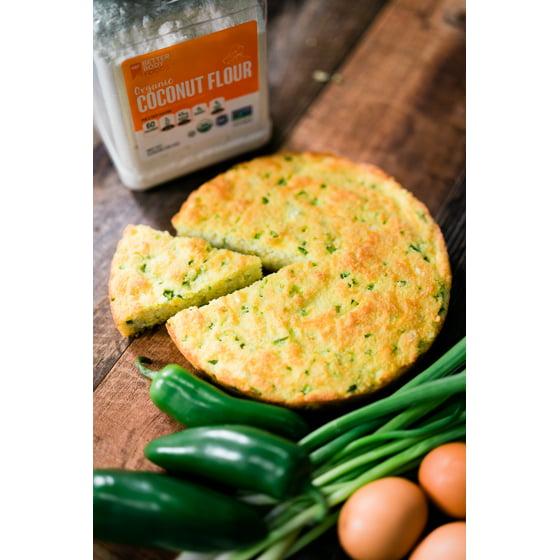 BetterBody Foods Organic Coconut Flour, Gluten-Free, 2 25