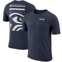 Seattle Seahawks Nike Performance Crew Champ T-Shirt - College Navy