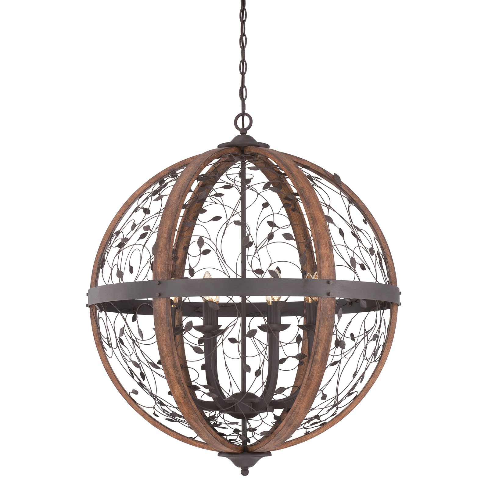 Quoizel Chamber CHB5208DK Chandelier by Quoizel