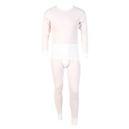 Men's Two Piece Long Johns Thermal Underwear (2 Piece Long Underwear Set)