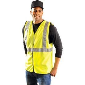 Occunomix LUX-SSG Classic Solid Safety Vest-Yellow/Lime-8X