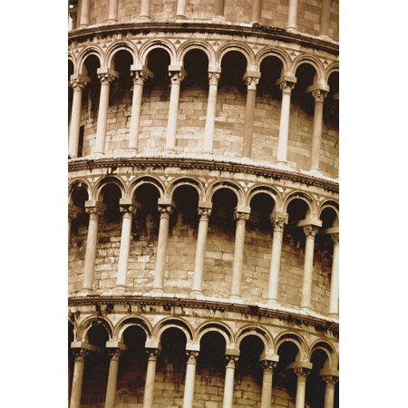 Leaning Tower Of Pisa Tuscany Italy PosterPrint