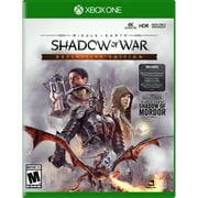Middle Earth: Shadow Of War Definitive Edition, Warner Bros, Xbox One, 883929654307