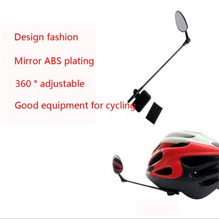 Tuscom Univesal Bike Helmet Mirror Adjustable MTB Road Bicycle Cycling Rear View