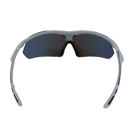 ROBESBON Authorized Riding Polarized Goggles Lens Cycling Glasses White - image 2 of 6