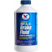 Valvoline DOT 3 and 4 Brake Fluid, 12 oz