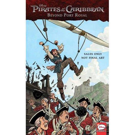Disney Pirates Of The Caribbean  Beyond Port Royal   Comics Collection