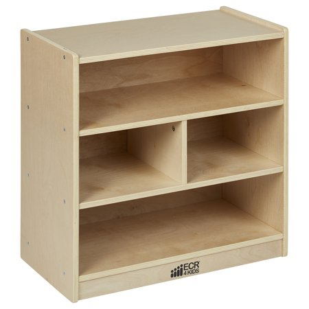 Birch 24in Small Block Storage Cart Natural