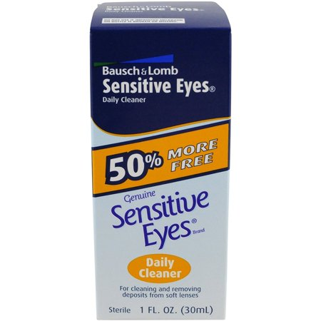 Bausch & Lomb Sensitive Eyes Daily Cleaner, 1 Ounce (Bausch Lomb Kontaktlinsen)