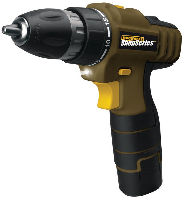 ShopSeries 12 V Lithium-ion 3/8in. Drill Driver