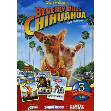 Disney Dogs 3 Pack  Beverly Hills Chihuahua   Snow Dogs   Eight Below