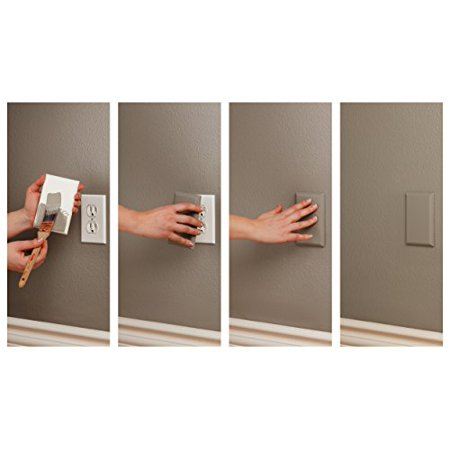 The COVERPLUG 2-Pack Paintable Electrical Outlet Cover - image 1 of 2