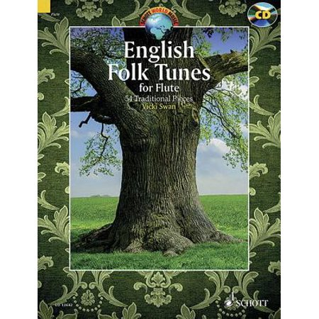 English Folk Tunes for Flute: 54 Traditional Pieces (Schott World Music) (Sheet music)