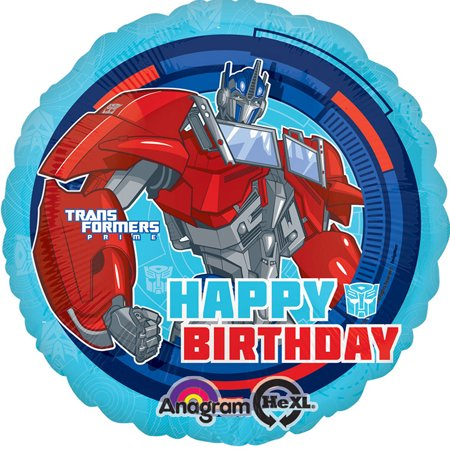 Transformers Happy Birthday Foil / Mylar Balloon 18