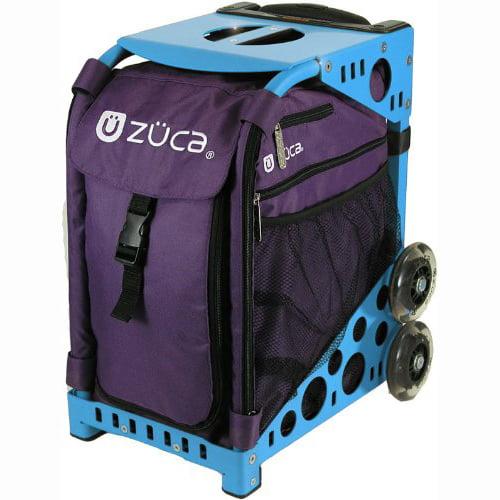 ZÜCA Rebel Insert Bag + Sport Frame w/ LED Flashing Wheels (Purple)