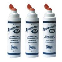 Parker Labs 01-08 Aquasonic 100 Ultrasound Transmission Gel Bottle 0.25 Liter (Set of 3)