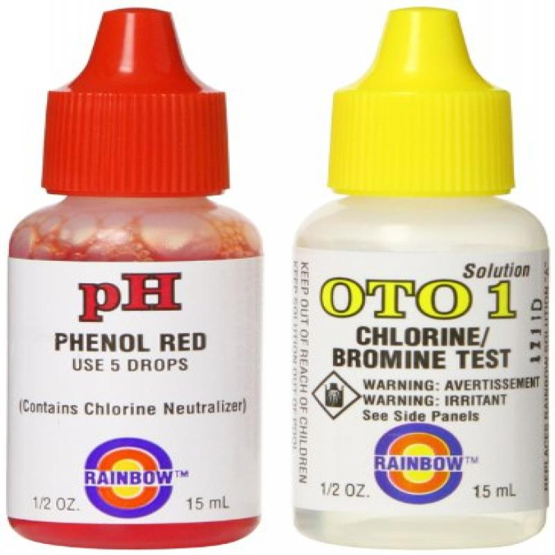 Pentair R161150 OTO and pH Solution, 1/2-Ounce