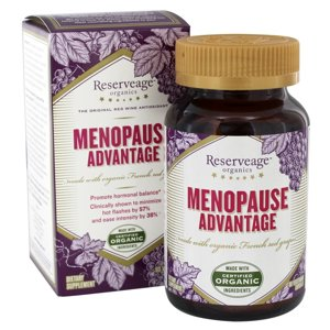 Reserveage Nutrition - Menopause Advantage - 60 Vegetarian Capsules