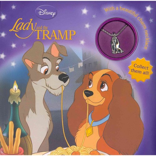 Lady and the Tramp: Storybook With Charm Necklace