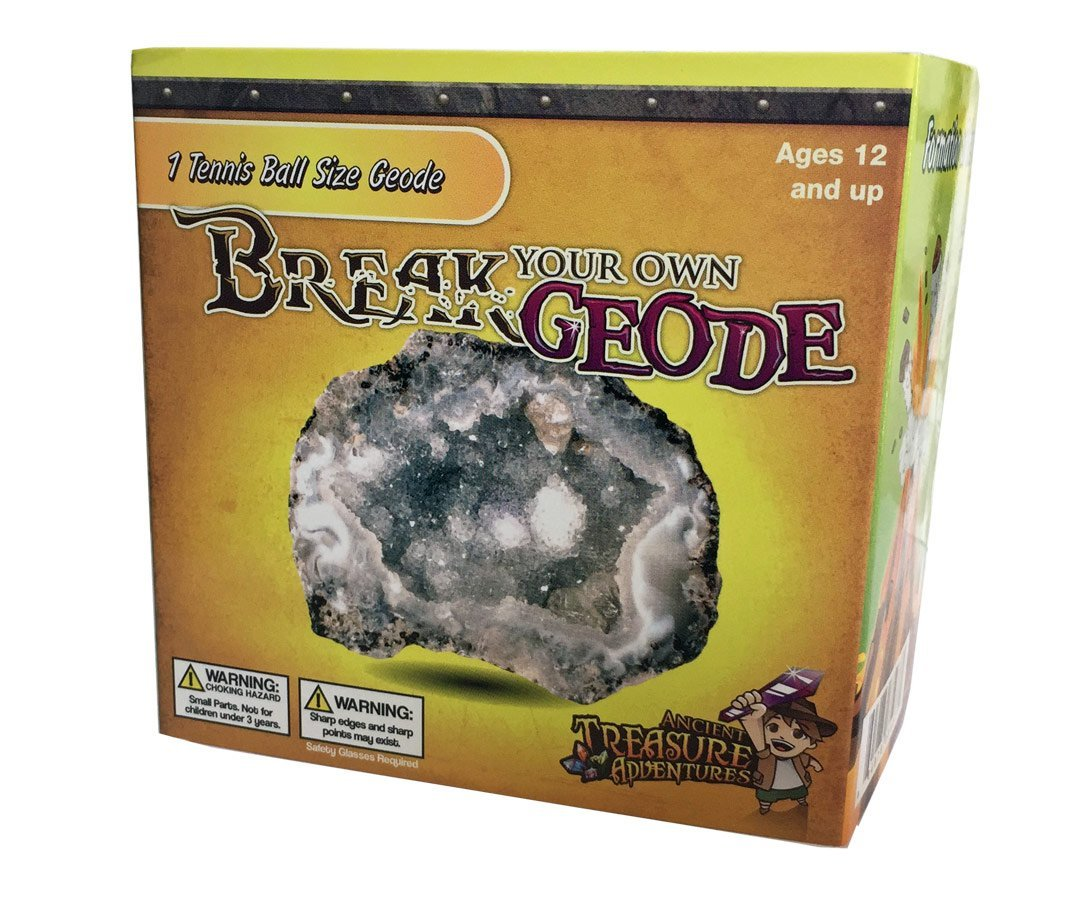 "Break Your Own Geode ""Tennis Ball Size"" By Ancient Treasure Adventures by"