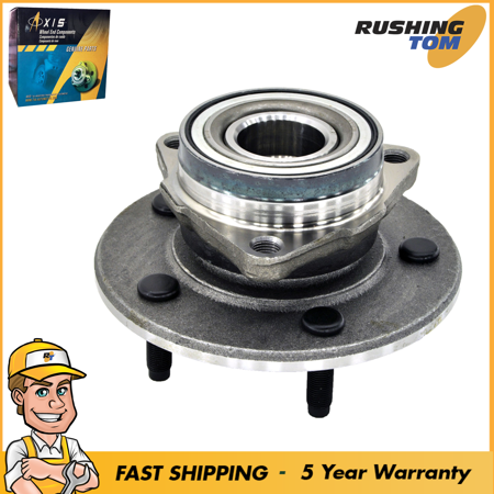 1500 Front Hub Bearing (Front Hub Bearing Assembly Fits 00-01 Dodge Ram 1500 4Wd Pickup 2 Wheel Abs )