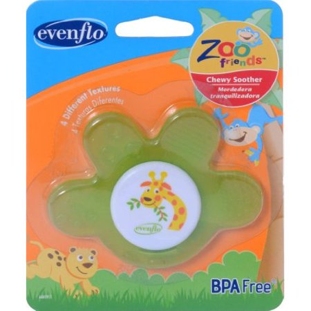 Paws Pacifier - Evenflo Zoo Friends Chewy Soother Paw