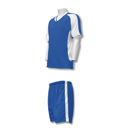 4 Away Soccer Jersey - Sweeper soccer jersey-shorts uniform set, by Code Four Athletics