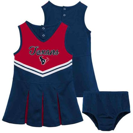 NFL Houston Texans Girls Cheerleader Set by