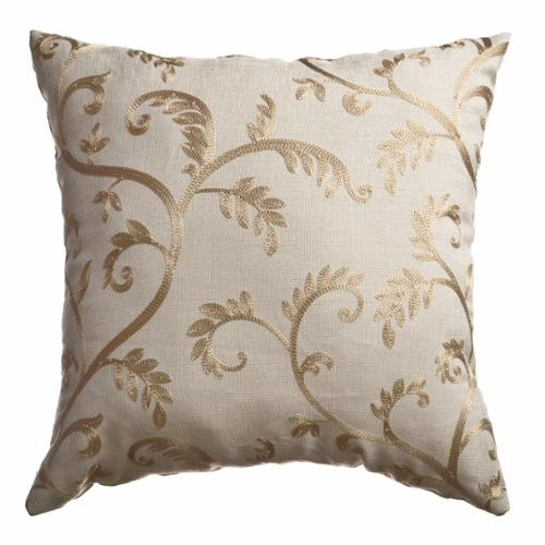 Softline Home Fashions Robbie Embroidered Feather Down Pillow (Set of 2)
