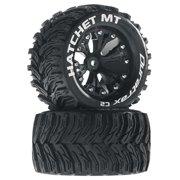 "Duratrax Hatchet MT 2.8"" 2WD Mounted Rear Tires, Black (2), DTXC3526"