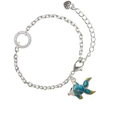 Keeping Tropical Fish - Blue Tropical Fish with Yellow Fins - Keep Her Safe Ring Zoe Bracelet