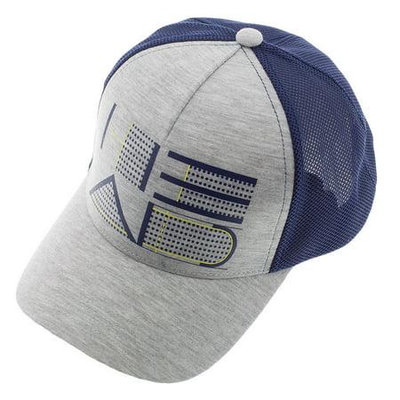 Trucker Hat Gray and Navy