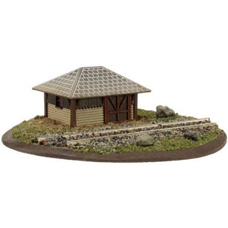 Atlas Model Railroad Co. 150-4001014 Section House - Kit (Laser-Cut Wood) 1-1/4