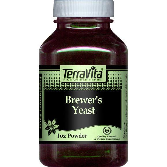 Brewer's Yeast Powder (1 oz, ZIN: 512859) by TerraVita
