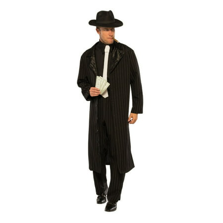 Halloween Crime Boss Adult Costume - Bass Costume