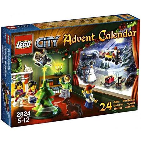 City 2010 Advent Calendar Set Lego 2824