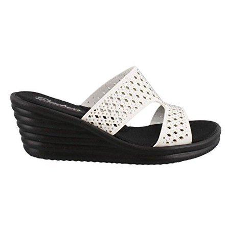 2fed5bdab Skechers - Skechers Cali Women s rumbler Wave-Ibiza Summer Slide Sandal -  Walmart.com