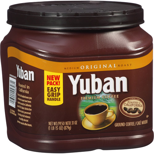 Yuban Original Medium Roast Ground Coffee, 31 oz