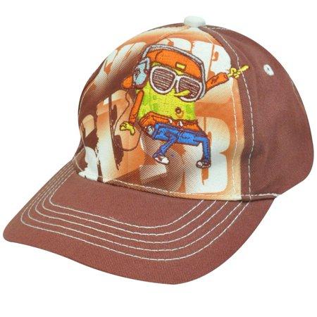 NICKELODEON NICK JR SPONGE BOB SQUAREPANTS KIDS HAT CAP - Spongebob Hat