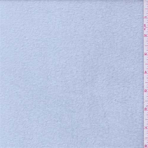 Icy Blue Fleece, Fabric By the Yard