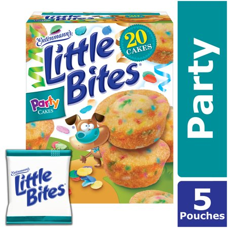 Entenmanns Little Bites Party Cake Mini Muffins Funfetti Snacks 5 Pouches