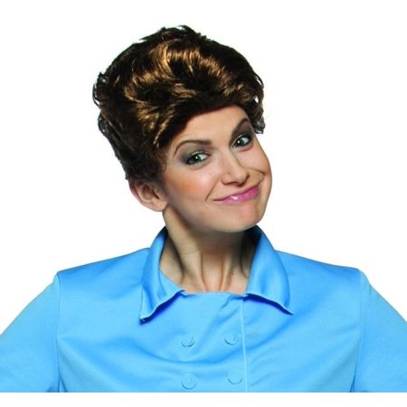 Brady Bunch Tv Show Brown Adult Female Costume Wig - Alice The Maid for $<!---->
