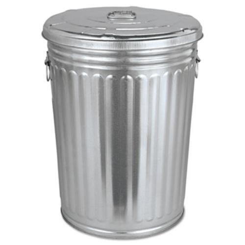 Magnolia Brush Pre Galvanized Trash Can